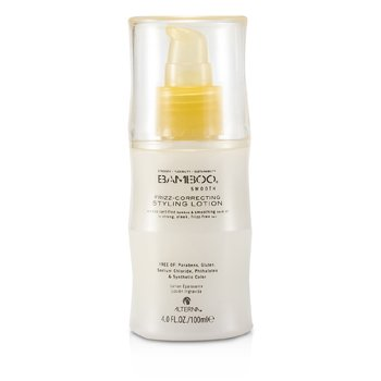 Alterna Bamboo Smooth Frizz-Correcting Styling Lotion (For Strong  Sleek  Frizz-Free Hair) 100ml/4oz