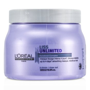 L'Oreal Professionnel Expert Serie – Liss Unlimited Smoothing Masque (For Rebellious Hair) 500ml/16.9oz