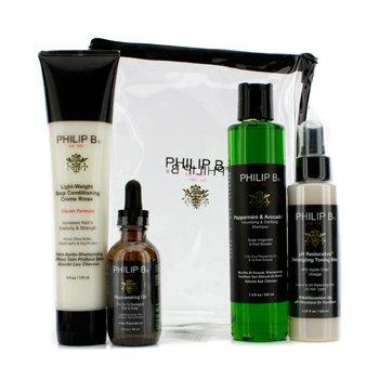 Philip BFour Step Hair & Scalp Treatment Set - Classic Formula (For All Hair Types) 4pcs