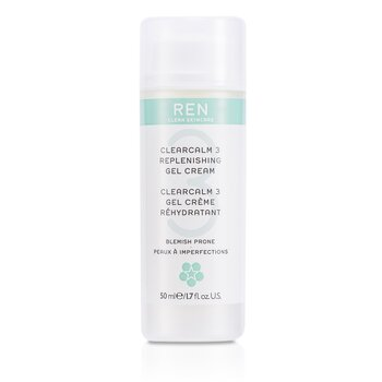 Ren Clearcalm 3 Replenishing Gel Cream (For Blemish Prone Skin) 50ml/1.7oz