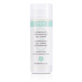 RenClearcalm 3 Replenishing Gel Cream (For Blemish Prone Skin) 50ml/1.7oz