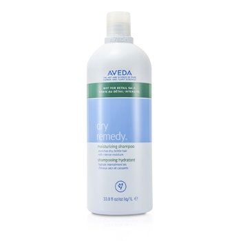 AvedaDry Remedy Moisturizing Shampoo - For Drenches Dry, Brittle Hair (New Packaging- Salon Product) 1000ml/33.8oz