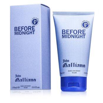 John Galliano Before Midnight Hair & Body Wash 150ml/5oz 16717028303