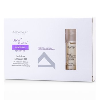 AlfaParfSemi Di Lino Moisture Aceite Esencial Nutritivo (Para Cabello Seco) 6x13ml/0.43oz