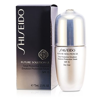 Shiseido Future Solution LX Emulsi�n Protectora Total SPF 15  75ml/2.5oz