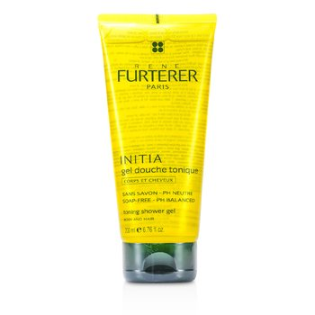 Rene Furterer Initia Toning Shower Gel - Body and Hair (Soap-Free - PH Balanced) 200ml/6.76oz