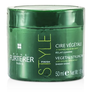Rene FurtererVegetal Style Finish Vegetal Styling Wax (Sheer Shine) 50ml/1.81oz