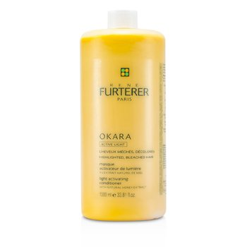 Rene FurtererOkara Light Activating Conditioner (For Highlighted, Bleached Hair) 1000ml/33.81oz