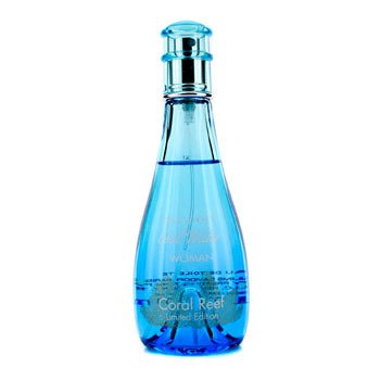 Davidoff Cool Water Coral Reef Eau De Toilette Spray (Edici�n Limitada)  100ml/3.4oz