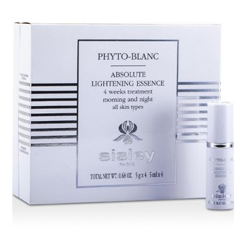 SisleyPhyto-Blanc Absolute Lightening Essence - 4 Weeks Treatment (For All Skin Types) 4x5ml/0.68oz