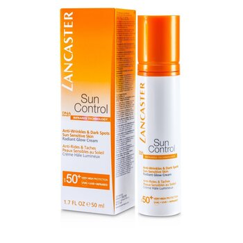 LancasterSun Control Face Radiant Glow Cream SPF 50+ 50ml/1.7oz