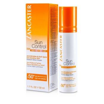 Lancaster Krem na dzie� z ochronnym filtrem Sun Control Face Radiant Glow Cream SPF 50+  50ml/1.7oz