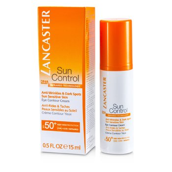 Lancaster Krem pod oczy na dzie� z ochronnym filtrem Sun Control Eye Contour Cream SPF 50+  15ml/0.5oz