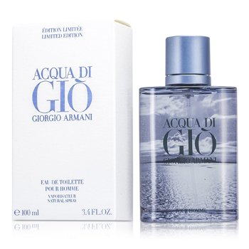 Giorgio ArmaniAcqua Di Gio Eau De Toilette Spray (Edici�n Limitada Blue) 100ml/3.4oz