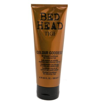 TigiBed Head Colour Goddess Oil Infused Conditioner (For Coloured Hair) 200ml/6.76oz