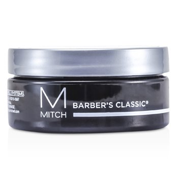 Mitch Barbers Classic Moderate Hold/High Shine Pomade