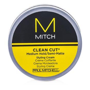 Paul MitchellMitch Clean Cut Crema de Peinar Agarre Medio/Semi Mate 85g/3oz