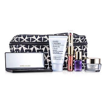 Travel SetTravel Set: Perfectly Clean + DayWear Cream + Perfectionist [CP+R] + EyeShadow + Mascara #01 + Lipstick #57 & Lip Gloss #25 + Bag 6pcs+1bag