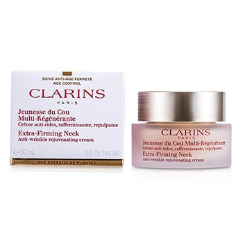Clarins Extra-Firming Crema de Cuello Rejuvenecedora Anti Arrugas  50ml/1.6oz