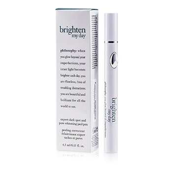 PhilosophyBrighten My Day Expert Dark Spot & Pore Whitening Peel Pen 4.5ml/0.15oz