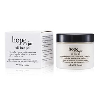 Philosophy Hope In A Jar Oil-Free Gel Moisturizer (For Normal To Oily Skin)  60ml/2oz