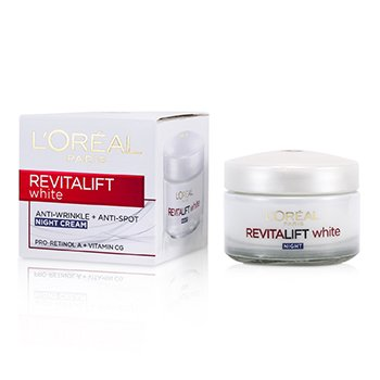L'OrealRevitalift White Anti-Wrinkle + Anti-Spot Night Cream 50ml/1.7oz