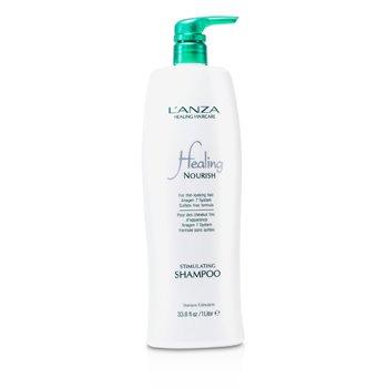 LanzaHealing Nourish Stimulating Shampoo (For Thin-Looking Hair) 1000ml/33.8oz
