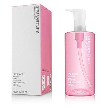 Shu Uemura Skin Purifier Porefinist Anti-Shine Fresh Cleansing Oil - Pembersih  450ml/15oz