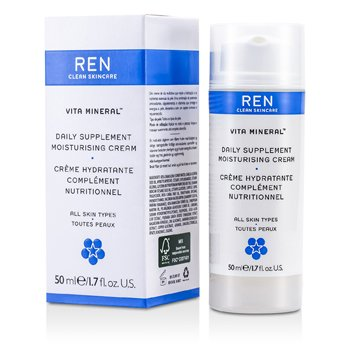 Ren Vita Mineral Daily Supplement Moisturising Cream (For All Skin Types) 50ml/1.7oz