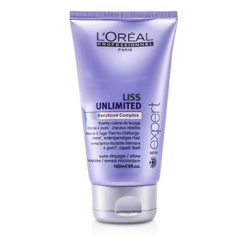 L'Oreal Professionnel Expert Serie - Liss Unlimited Smoothing Cream (For Rebellious Hair)  150ml/5oz