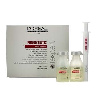 L'OrealProfessionnel Expert Serie - Fiberceutic Hair Filling Serum (For Very Damaged Hair) 15x15ml/0.6oz