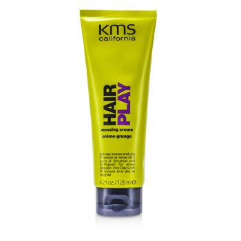 KMS CaliforniaHair Play Messing Creme (2nd-Day Texture and Grip) 125ml/4.2oz