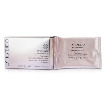 ShiseidoBenefiance WrinkleResist24 Pure Retinol Express Smoothing Eye Mask 12pairs