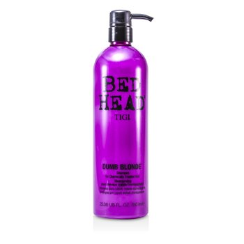 TigiBed Head Dumb Blonde Shampoo (For Chemically Treated Hair) 750ml/25.36oz