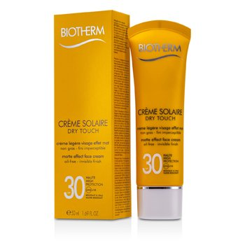 Biotherm Creme Solaire SPF 30 Dry Touch UVA/UVB Матовый Эффект Крем для Лица 50ml/1.69oz
