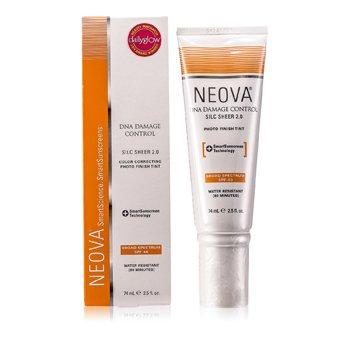 NeovaDNA Damage Control - Silc Sheer 2.0 Tinte Foto Acabado Corrector de Color SPF 40 74ml/2.5oz