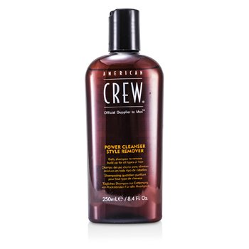 American CrewMen Power Cleanser Style Remover Daily Shampoo (For All Types of Hair) 250ml/8.4oz