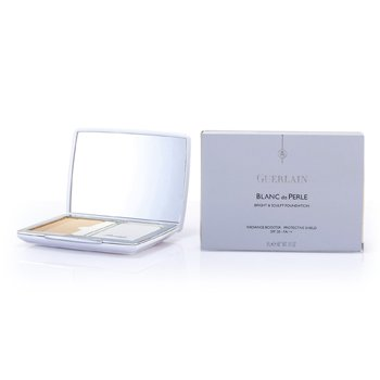 PowderBlanc De Perle Bright & Sculpt Compact Foundation SPF 20 - # 01 Beige Pale 9g/0.31oz