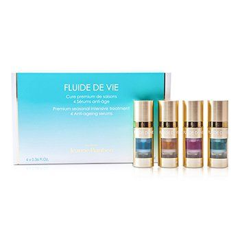 Methode Jeanne PiaubertFluide De Vie - Premium Seasonal Intensive Treatment (Anti-Ageing Serums) 4x11ml/0.36oz
