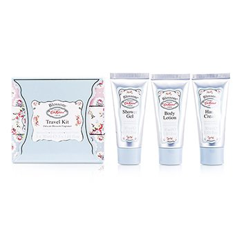Cath KidstonBlossom Travel Kit: Hand Cream 30ml + Shower Gel 30ml + Body Lotion 30ml 3pcs