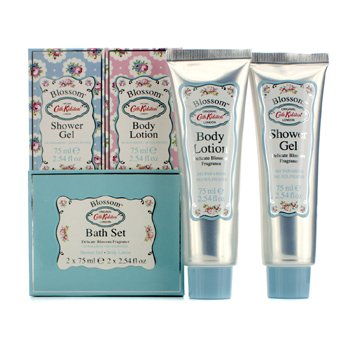 Cath KidstonBlossom Bath Set: Shower Gel 75ml + Body Lotion 75ml 2pcs