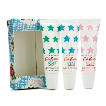 Cath KidstonStar Collection Lip Gloss Set: Lime & Mint 10ml + Rose & Peony 10ml + Bluebell & Jasmine 10ml 3pcs
