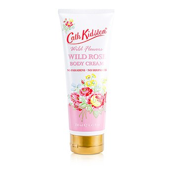 Cath Kidston Wild Flowers Wild Rose Body Cream  250ml/8.45oz