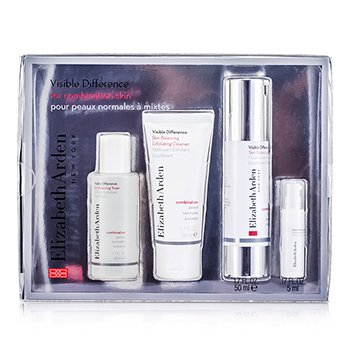 Elizabeth ArdenVisible Difference Set (Para pele mista) 4pcs