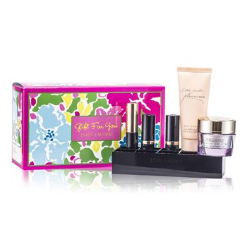 A Gift For You: Advanced Time Zone 15ml + Eye Cream 5ml + Body Lotion 30ml + Mascara + 2x Lipstick #03 & 83 + Lipstick Caddy