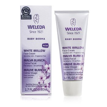 Weleda Baby Derma White Mallow Face Cream - Fragrance Free
