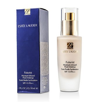 Estee Lauder Futurist Moisture Infused Fluid Makeup SPF 15 - # 65 Cool Creme  30ml/1oz