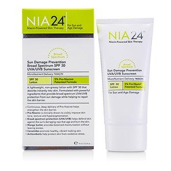 NIA24  NIA24 抗阳光损伤防晒乳SPF 30 75ml/2.5oz