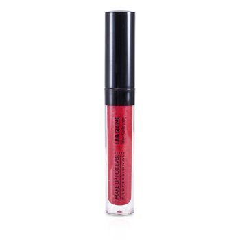 Make Up For Ever Lab Shine Star Collection Pearly Lip Gloss – #S8 (Ruby Red) (Unboxed) 2.6g/0.09oz