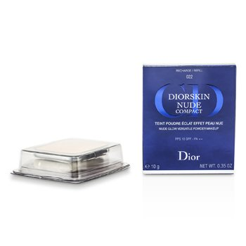 PowderDiorskin Nude Compact Nude Glow Versatile Powder Makeup SPF 10 Refill10g/0.35oz